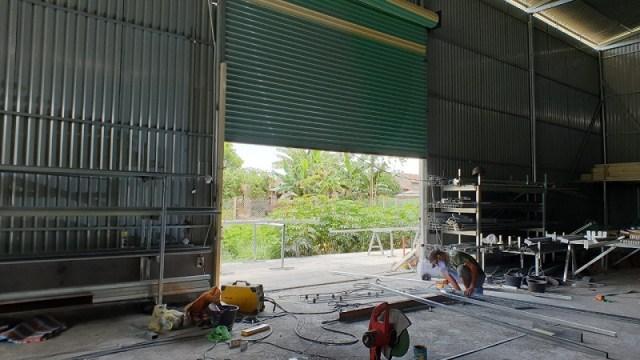 cong trinh mv4mv 4 1132 - Cửa cổng xếp giá rẻ tại Bình Dương