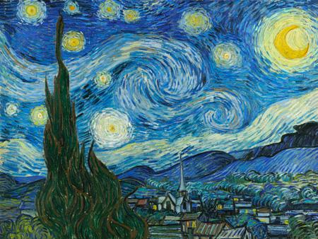 3VG117 - Vincent Van Gogh - The Starry Night