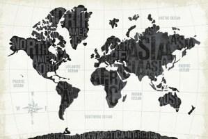 W25875 - Michael Mullan - Modern World White {H7 - Mapas}
