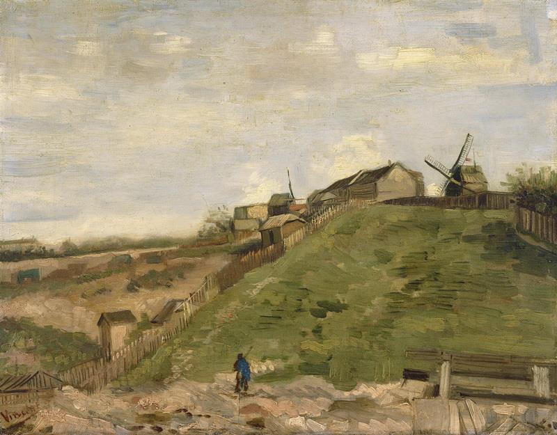 Resultado de imagen de colina montmartre
