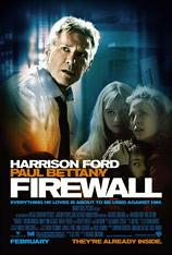 Firewall cartel de la película