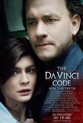 El código da vinci cartel de la película de Ron Howard