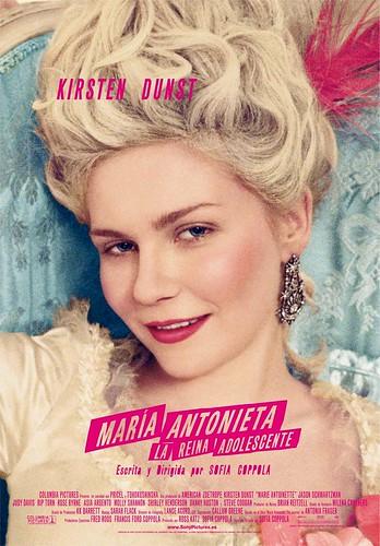 Maria Antonieta cartel película