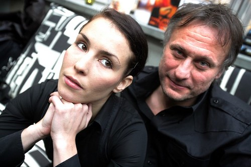 Michael Nyqvist y Noomi Rapace