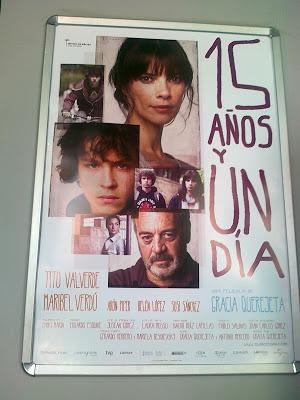 15 años y un día cartel película