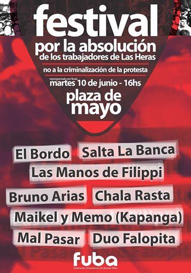 Festival por la absol 10 junio