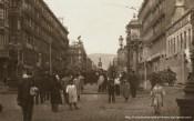Cinematógrafo Gran Salón Doré en la Rambla de Cataluña en 1908