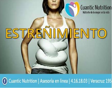 Estreñimiento y Cuantic Nutrition