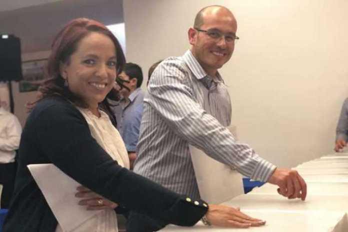 votacion Andrea Villanueva y Jose Manuel Hinojosa