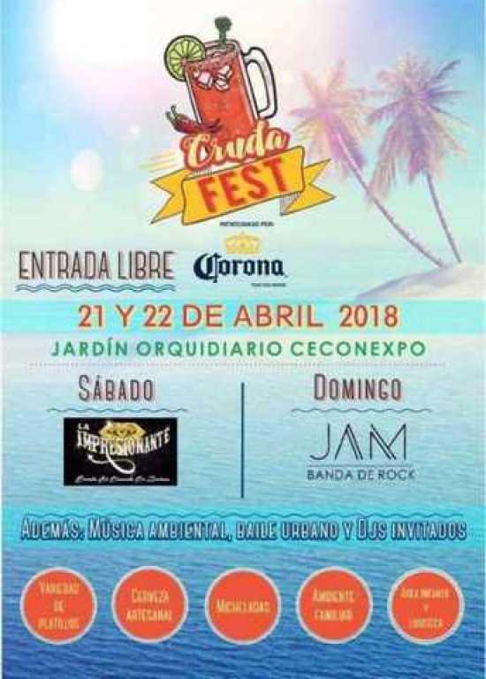 Cruda Fest cartel