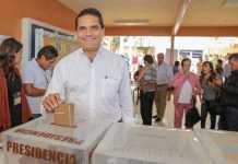 Silvano Aureoles voto