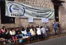 protesta STDSSM