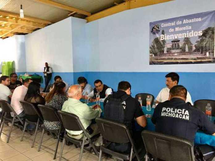 Central de Abastos Policia Michoacan