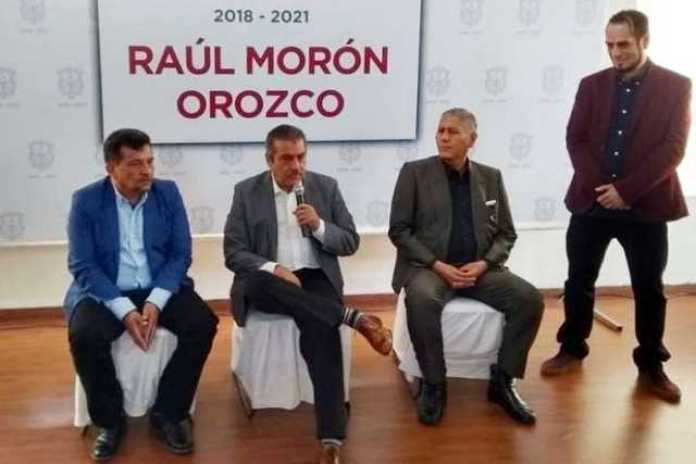 Raul Moron gabinete presentacion