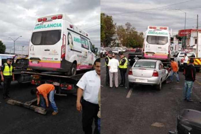 carambola ambulancia Morelia