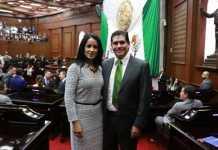 Lucila Manriquez y Ernesto Nuñez