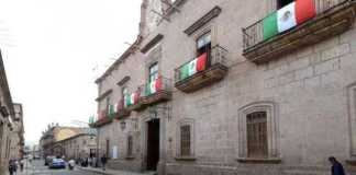 Palacio Municipal Ayuntamiento Morelia Septiembre