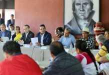 Silvano Aureoles Concejo Mayor de Cheran 3