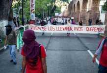 marcha normalistas Morelia