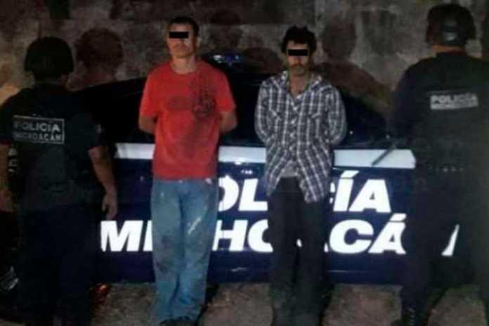 detenidos Tumbiscatio