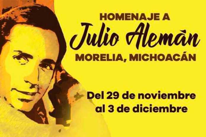 homenaje Julio Alemán