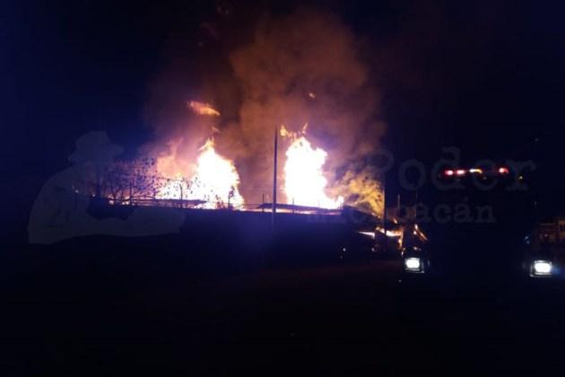 incendio bodega Morelia