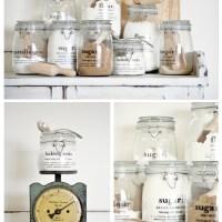 Organizando la cocina: botes y ¡más botes!