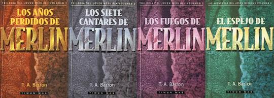 Saga literaria de Merlín en castellano, escrita por T.A. Barron - Cine de Escritor