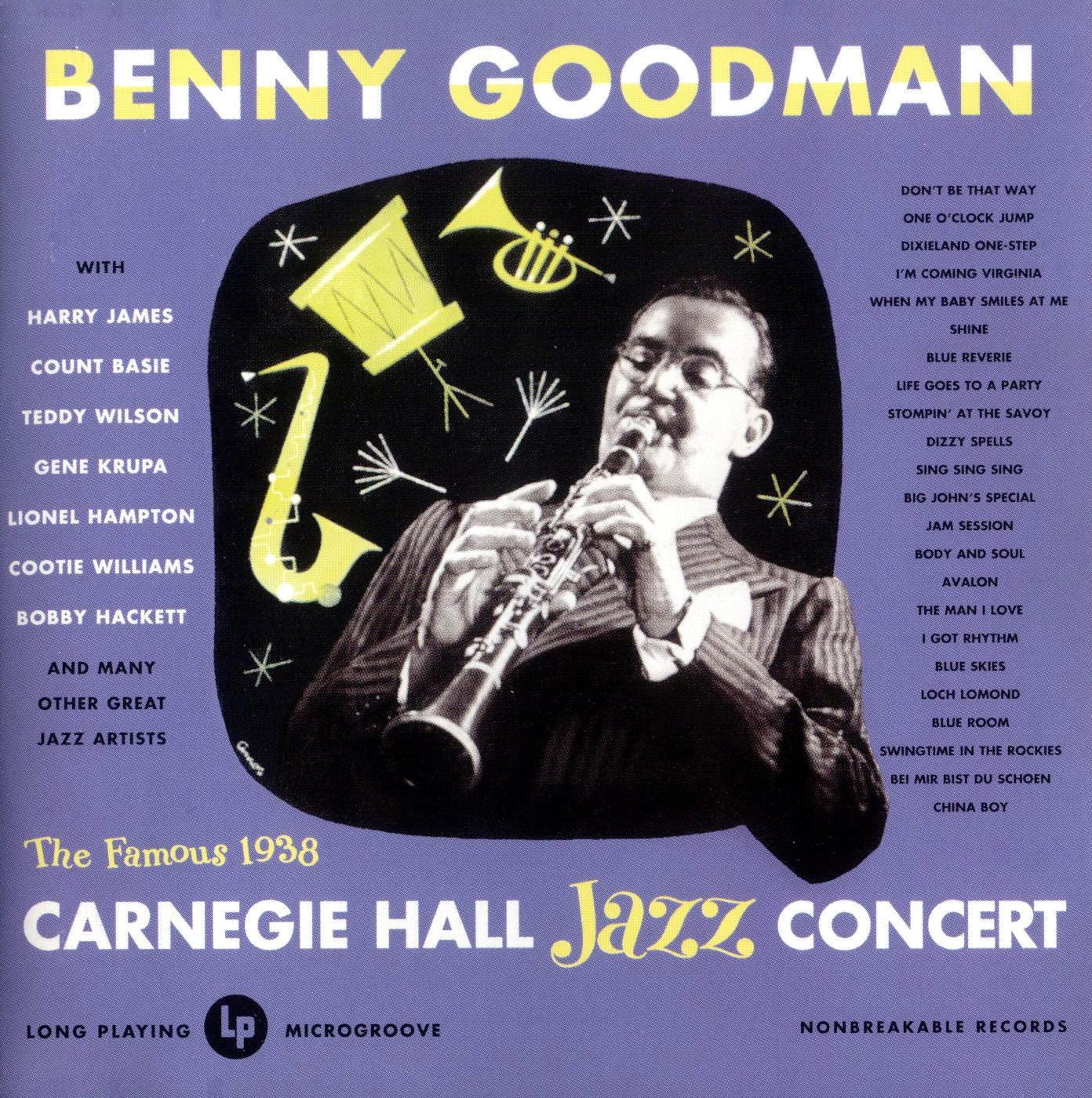 Benny Goodman - At Carnegie Hall 1938 Front 1950
