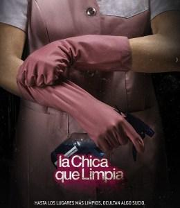 La chica que limpia - Afiche 2