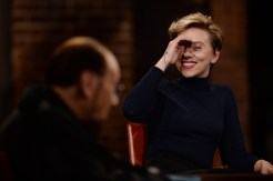 "INSIDE THE ACTORS STUDIO -- ""Scarlett Johansson"" -- Pictured: Scarlett Johansson -- (Photo by: Anthony Behar/Bravo)"