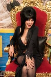 Cassandra Peterson (Elvira) - Comic Book Men _ Season 6, Episode 2 - Photo Credit: Pawel Kaminski/AMC