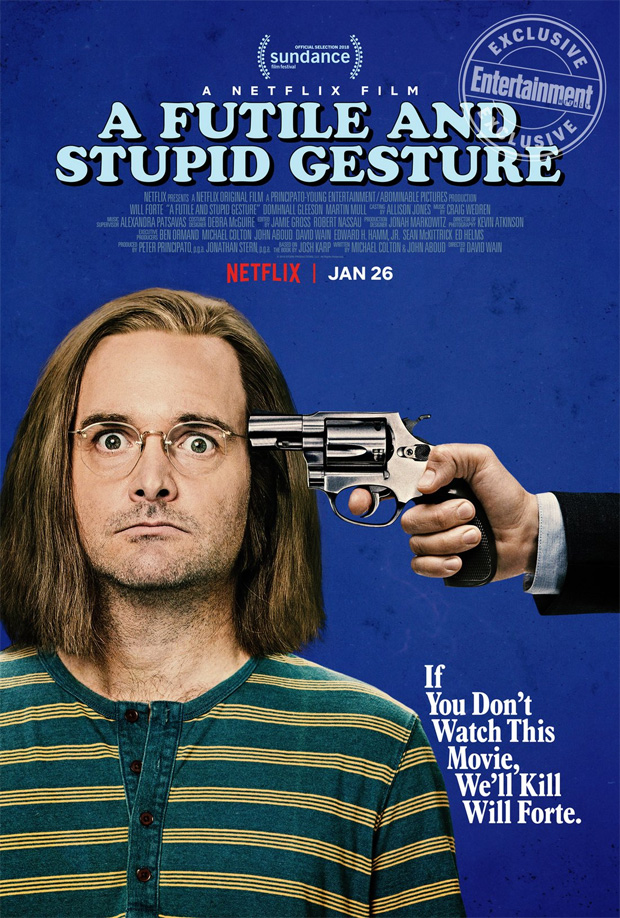 a-futile-and-stupid-gesture-will-forte-netflix-poster