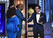 NEW YORK, NY - JUNE 10: John Leguizamo accepts a Special Tony Award onstage during the 72nd Annual Tony Awards at Radio City Music Hall on June 10, 2018 in New York City. (Photo by Theo Wargo/Getty Images for Tony Awards Productions)