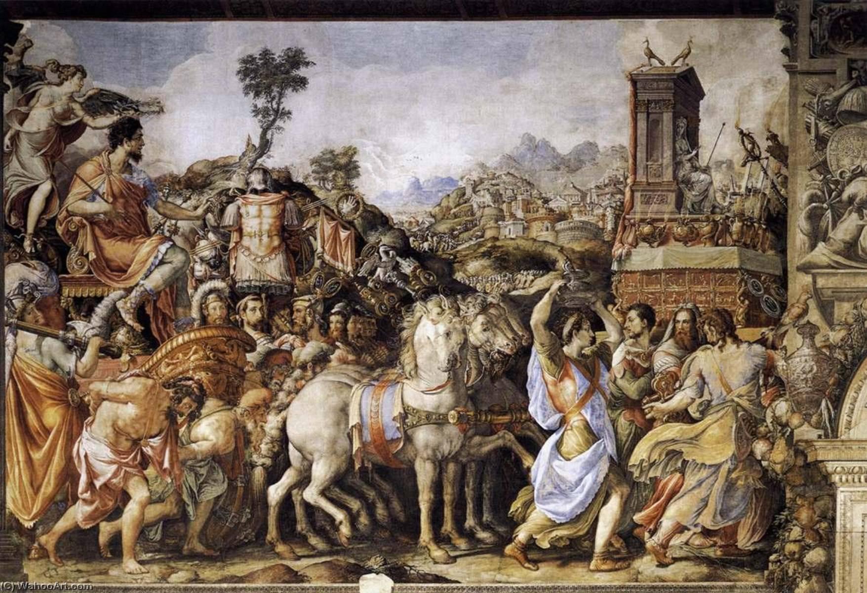 Francesco-De-Rossi-Triumph-of-Furius-Camillus