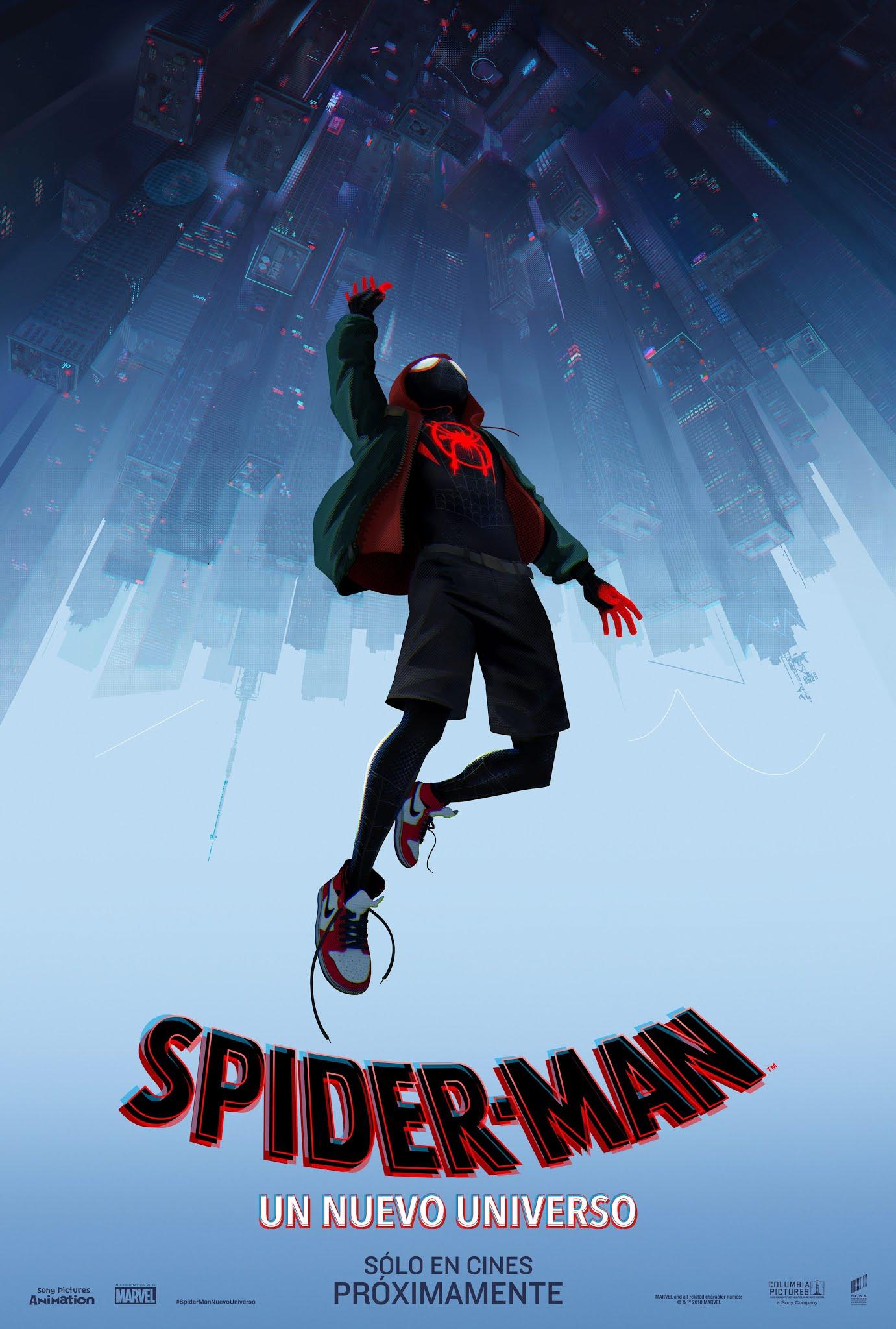 Spiderman: Un nuevo universo Poster