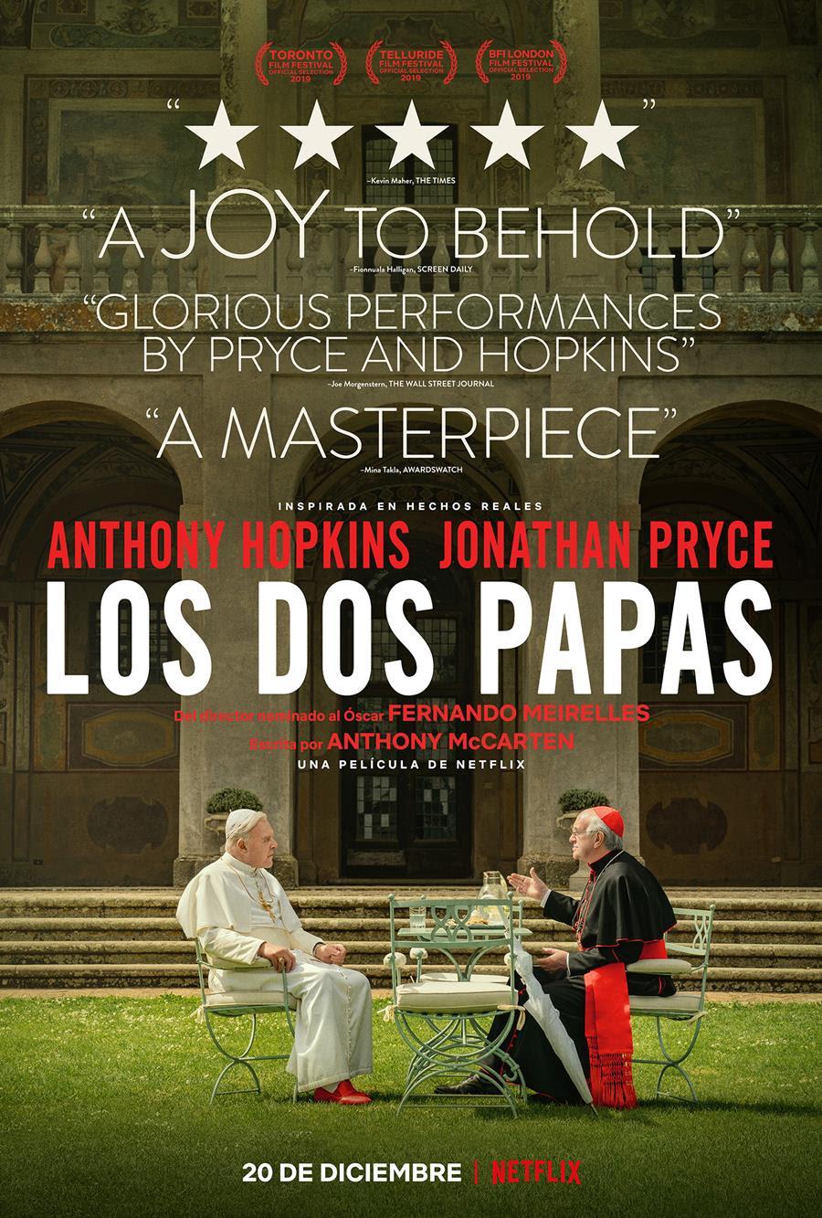 Los dos papas - Poster.jpg