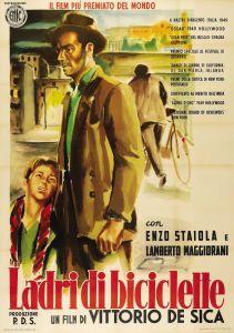 Ladri di biciclette - Poster