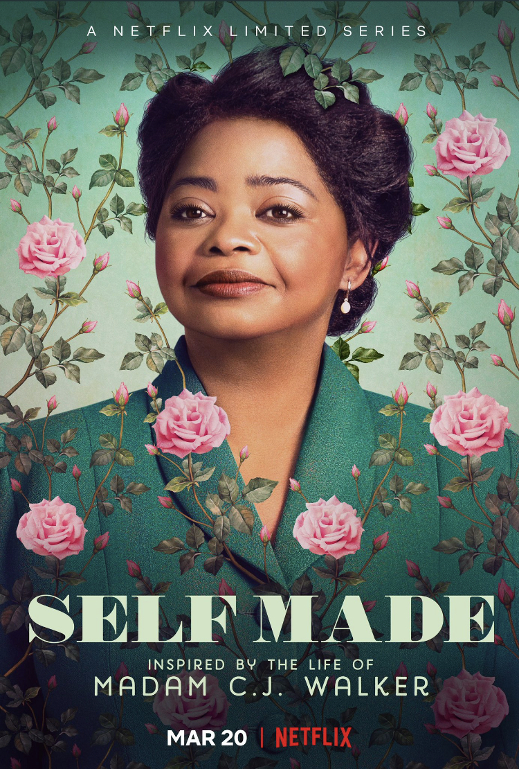Self Made Inspired by the Life of Madam C.J. Walker - Poster