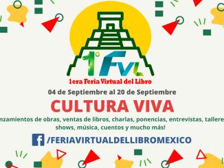 Comenzó la primera feria virtual del libro en México