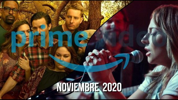 Prime Video Noviembre 2020