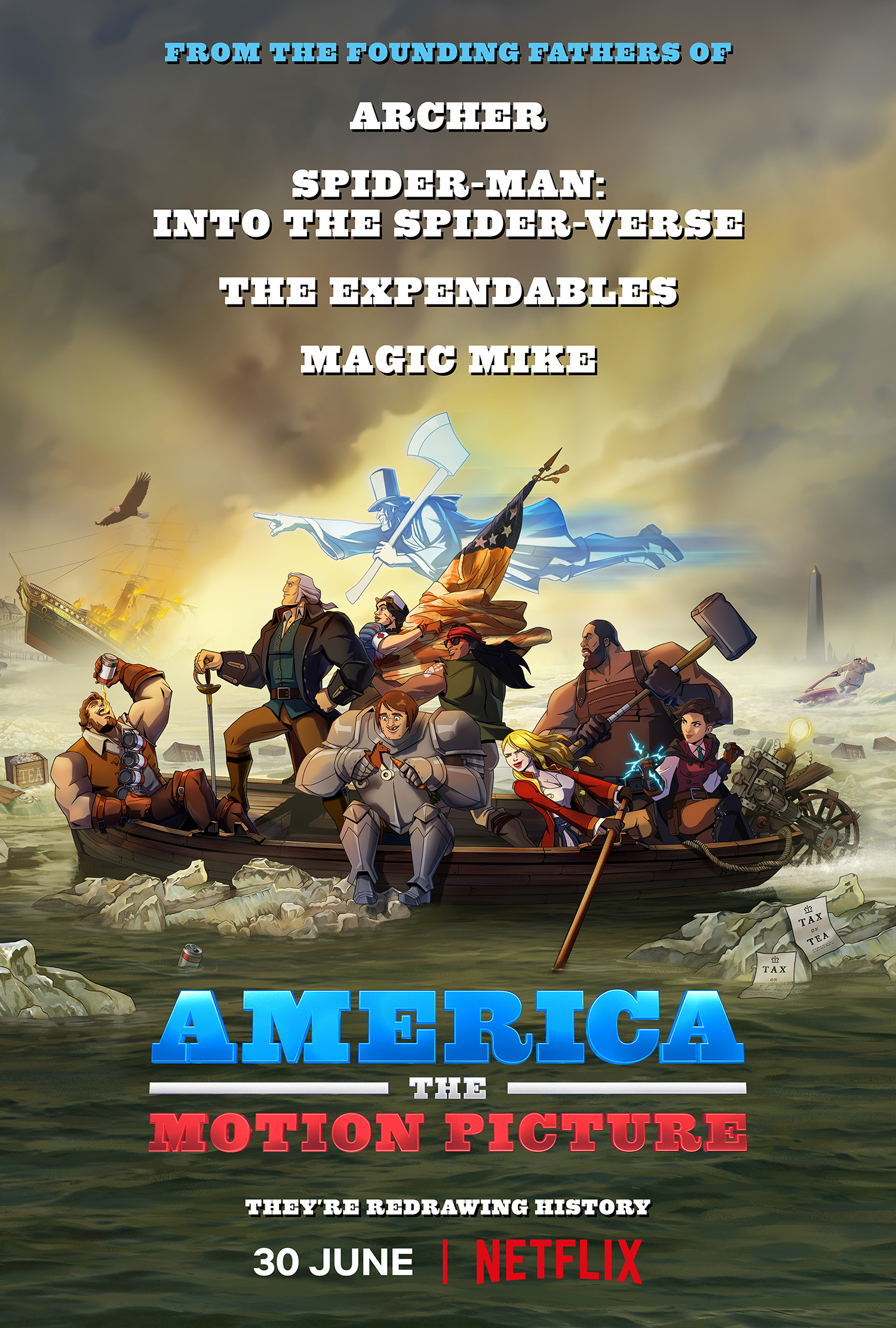 America: The Motion Picture - Poster