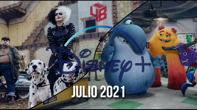 Disney Plus julio 2021
