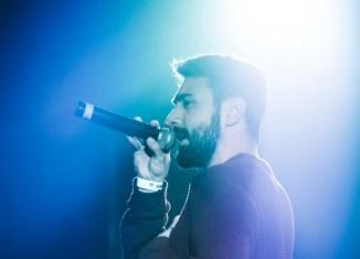 Rayden durante una actuación en Madrid. Foto: Esteban Starfish