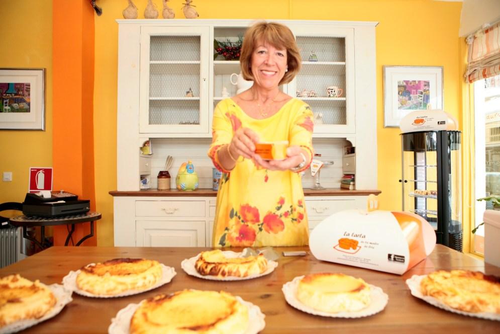 Pilar Molina pone amor de madre y buenos ingredientes en sus tartas. Foto: cortesía de La Tarta de la Madre de Cris
