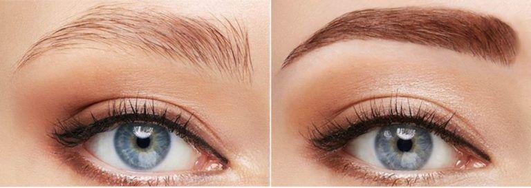 tipos de ceja de micropigmentacion, rellena completa o pelo a pelo donde queda mas natural para la mujer. micropigmentacion madrid tatuaje carabanchel cuatro lineas tatuaje