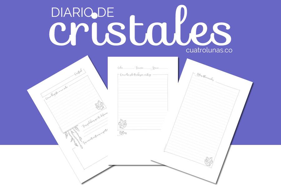 diario de cristales para descargar