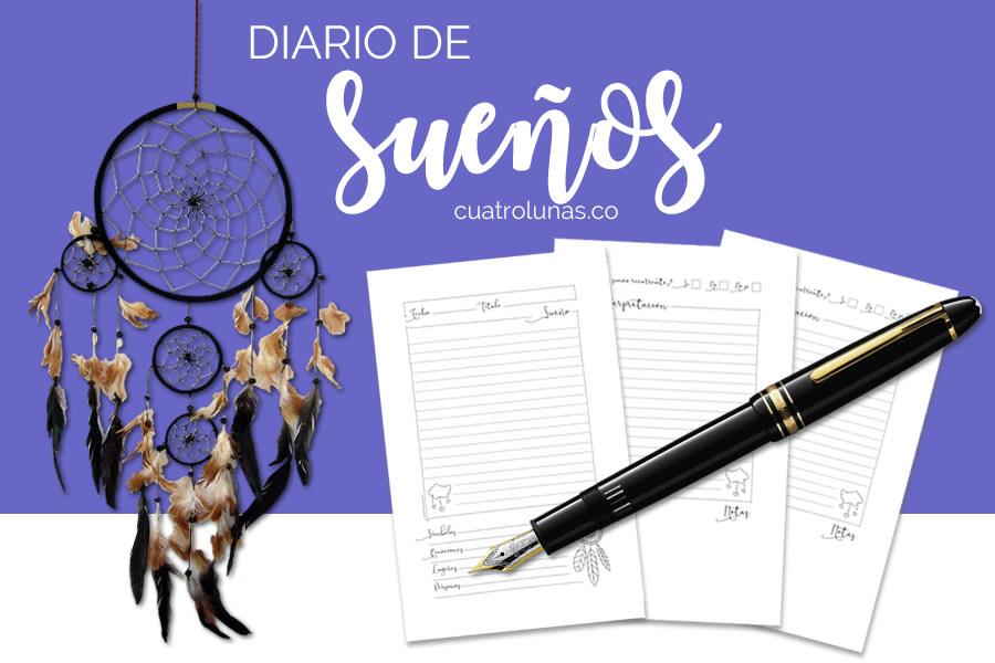 Diario de Sueños Imprimir PDF Gratis