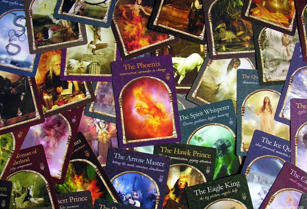 Entrevista al Oráculo Wisdom of the Hidden Realms