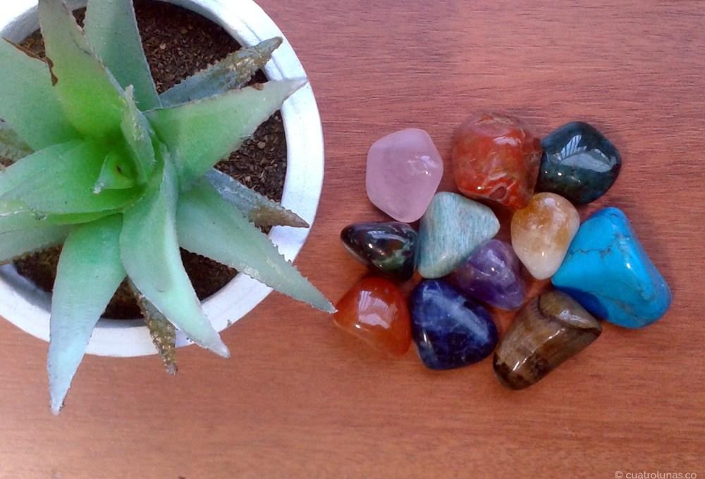 Los colores y los cristales